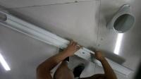 小艾新款移動空調擋板安裝方法