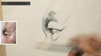 頭像素描幾何教學視頻 創意速寫圖片 石膏幾何體