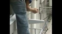 空調維修培訓正版視頻教程全集6-2空調安裝過程(現場拍攝)