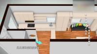 實用小設計,增加室內采光和通風.