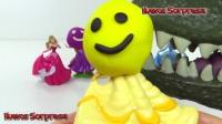 學習顏色播放Doh迪士尼公主手指家庭歌曲童謠兒童