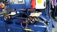 350型全自動切管機視頻 自動拉尾料切管機 無毛刺切割機