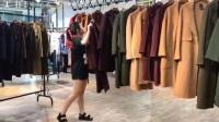 妃詩圖雙面羊絨大衣 品牌女裝尾貨批發 廠家直銷