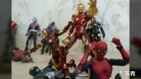 【曉龍的模型】蜘蛛俠 英雄歸來 shf 外拍 萬代SHF系列 有彩蛋 一定要看,不看會后悔 Spiderman Homecoming 小蜘蛛與復仇者聯盟