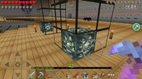 我的世界pe雨文《暮色森林動物空島23》差點被水淹沒 不知所措              空島生存游戲視頻解說模組 Minecraft我的世界手機版手游實況解說
