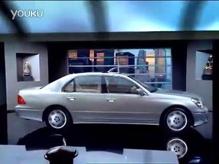 雷克薩斯LS430 視頻廣告 穿梭于虛擬與現實 感受完美駕駛體驗