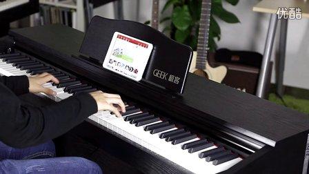 GEEK极客智能钢琴 上手试弹
